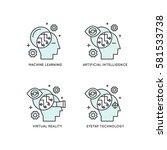 vector icon style illustration... | Shutterstock .eps vector #581533738