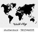 world map vector background....   Shutterstock .eps vector #581546035