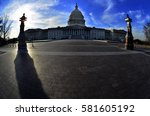 Stock photo capitol building for united states in washington dc public building 581605192