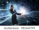 technologies that impress .... | Shutterstock . vector #581644795
