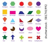 vector shape sign design  minus ... | Shutterstock .eps vector #581741992