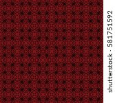 seamless texture of geometric ... | Shutterstock .eps vector #581751592