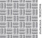 grunge monochrome black and...   Shutterstock .eps vector #581825446