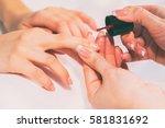 manicure | Shutterstock . vector #581831692