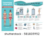 vector illustrated set with... | Shutterstock .eps vector #581835952
