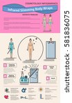 vector illustrated set with... | Shutterstock .eps vector #581836075