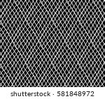 knitted seamless patterns.... | Shutterstock .eps vector #581848972