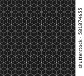 abstract seamless pattern.... | Shutterstock .eps vector #581874655