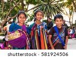 antigua  guatemala dec 26  2015 ... | Shutterstock . vector #581924506