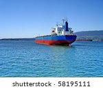 empty container ship