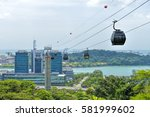 singapore   february 11  cable... | Shutterstock . vector #581999602