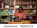 kigali  rwanda   circa august... | Shutterstock . vector #582002116