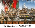 Statues Of The Buddha In The...
