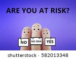 are you at risk  | Shutterstock . vector #582013348