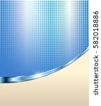 abstract blue background with... | Shutterstock .eps vector #582018886