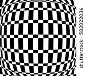 Distorted Chequered  Checkered...