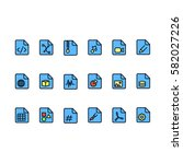 set of documents related vector ...