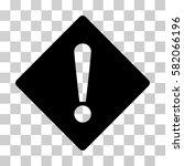 error rhombus vector pictograph.... | Shutterstock .eps vector #582066196