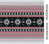 seamless abstract template... | Shutterstock .eps vector #582098266