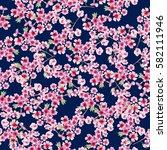 watercolor seamless pattern. | Shutterstock . vector #582111946