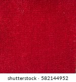 A Background Of Red Textile...