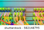 a bright display on the... | Shutterstock . vector #582148795