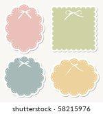 design retro frame | Shutterstock .eps vector #58215976