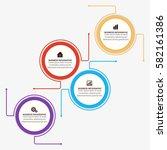 popular infographics elements... | Shutterstock .eps vector #582161386