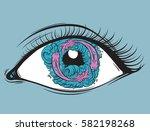 vector creative illustration of ... | Shutterstock .eps vector #582198268