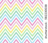 Chevron Pastel Colorful Spring...