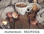 christmas or new year... | Shutterstock . vector #582292426