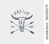 Vintage Engraved Badge  Label...