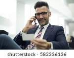 professional male... | Shutterstock . vector #582336136