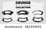 set of grunge vector shapes....