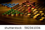 Chinese Checkers Board During...
