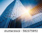 skyscrapers from a low angle... | Shutterstock . vector #582375892