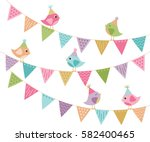 everyone's invited   cute party ... | Shutterstock .eps vector #582400465