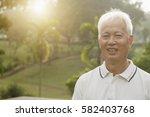portrait of healthy asian... | Shutterstock . vector #582403768