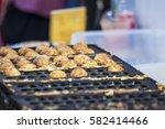 thai sweetmeat | Shutterstock . vector #582414466