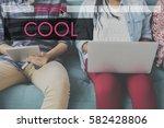 liberty cool free spirit... | Shutterstock . vector #582428806