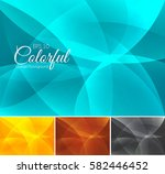 colorful abstract background.... | Shutterstock .eps vector #582446452