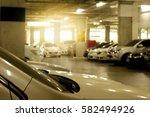 car parking area. | Shutterstock . vector #582494926