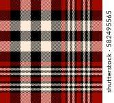 seamless tartan plaid pattern....   Shutterstock .eps vector #582495565