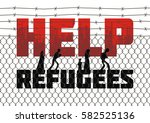 the propaganda poster about...   Shutterstock .eps vector #582525136