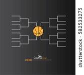 a blank college basketball...   Shutterstock .eps vector #582533275