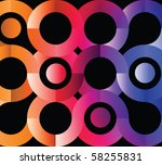 Abstract Colorful Circles On...