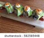 sushi   dragon roll with...