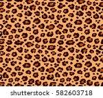 background texture leopard... | Shutterstock .eps vector #582603718
