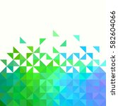background of geometric shapes. ... | Shutterstock .eps vector #582604066