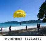 phuket  thailand   jun 19  2016.... | Shutterstock . vector #582616552